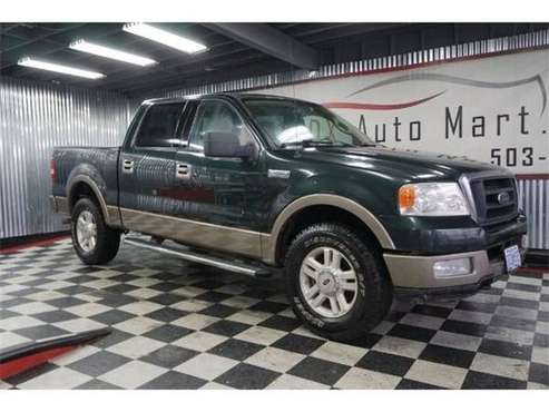 2004 Ford F-150 4x4 4WD F150 Truck Lariat Crew Cab4x4 4WD F150 Truck for sale in Portland, OR