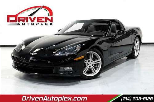 2008 Chevrolet Chevy Corvette 2DR COUPE - cars & trucks - by dealer... for sale in Dallas, TX
