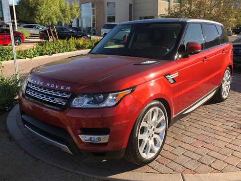 2015 Range Rover Sport HSE with 18,000 for sale in Rancho Mirage, CA