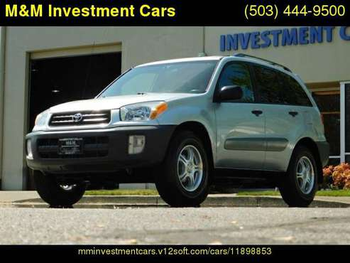 2002 Toyota RAV4 4WD / 4-cyl / NEW TIRES / 5-SPEED MANUAL for sale in Portland, OR