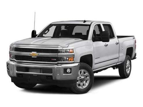 2015 Chevy Chevrolet Silverado 2500HD LT pickup White for sale in Post Falls, ID