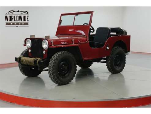 1947 Willys CJ2 for sale in Denver , CO