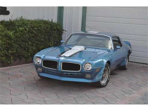 1971 Pontiac Firebird Trans Am for sale in Cadillac, MI