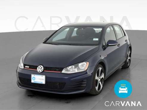 2015 VW Volkswagen Golf GTI S Hatchback Sedan 4D sedan Blue -... for sale in Wayzata, MN
