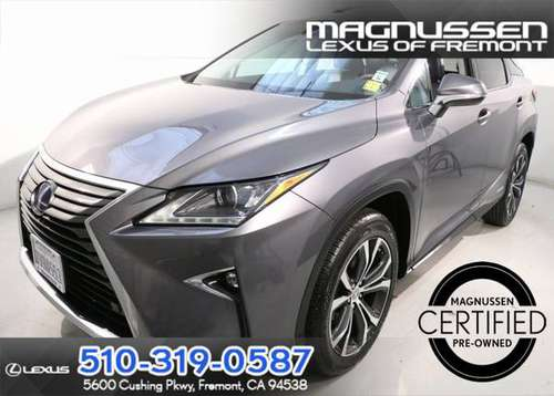 2016 Lexus RX AWD 4D Sport Utility / SUV 450h for sale in Fremont, CA