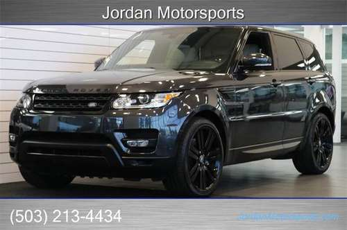2014 RANGE ROVER SPORT SUPERCHARGED V8 LOADED land 2013 2015 2015 sc for sale in Portland, OR