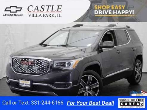 2017 GMC Acadia Denali hatchback Iridium Metallic for sale in Villa Park, IL