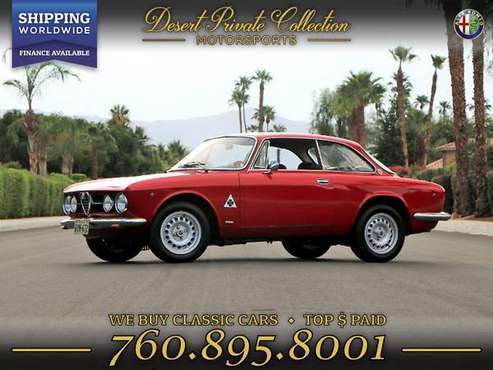 1969 Alfa Romeo GTV Coupe 1750 injection Coupe that performs beyond... for sale in Palm Desert, TX