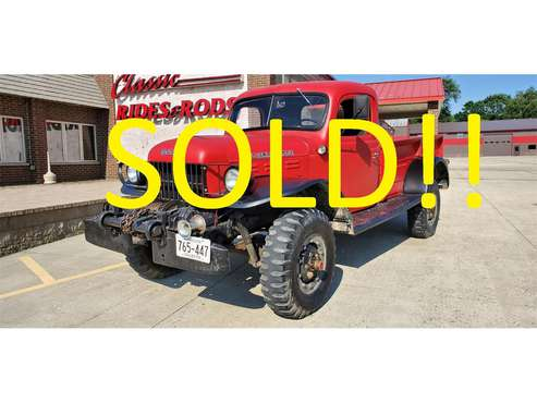 1952 Dodge Power Wagon for sale in Annandale, MN
