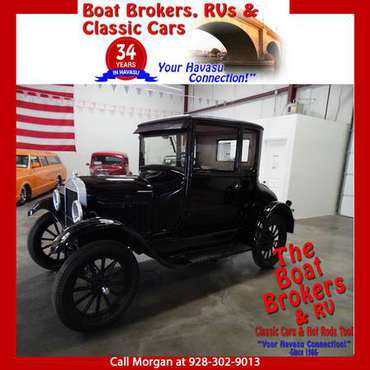 1926 FORD MODEL T 2 DOOR COUPE THAT LOOKS NEW - cars & trucks - by... for sale in Lake Havasu City, AZ