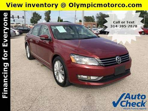 2015 Volkswagen Passat 1.8T SE w/Sunroof & Navigation * Warranty for sale in Florissant, MO