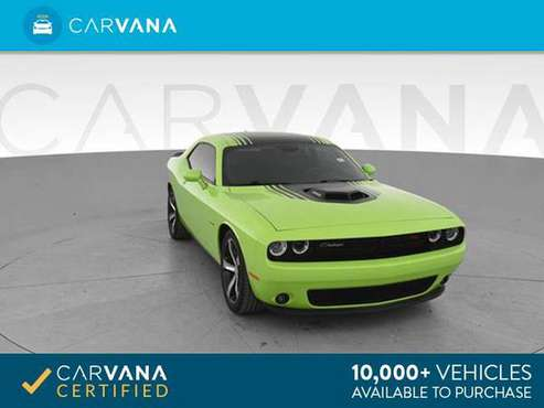 2015 Dodge Challenger R/T Plus Shaker Coupe 2D coupe Green - FINANCE for sale in Atlanta, KS