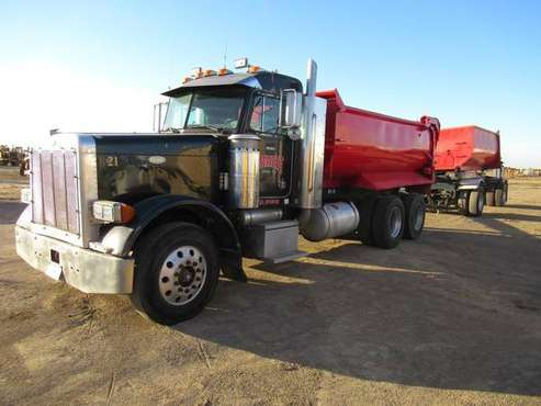 1989 Peterbilt Dump Truck Transfer Set for sale in Coalinga, AZ