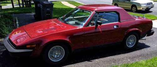 1980 Maroon Triumph TR-7 for sale in Sterling, MD
