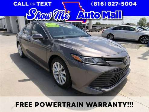 2018 Toyota Camry L - cars & trucks - by dealer - vehicle automotive... for sale in Harrisonville, MO