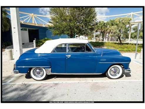 1951 Plymouth Cranbrook for sale in Sarasota, FL