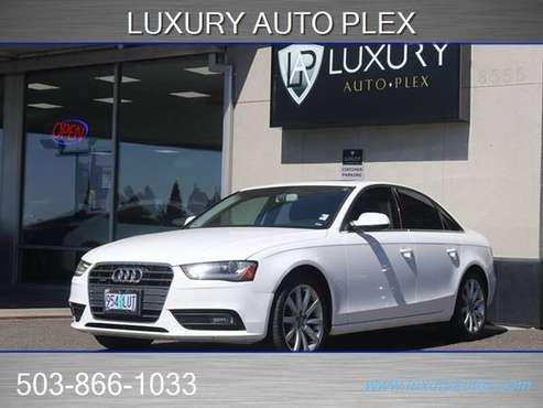 2013 Audi A4 AWD All Wheel Drive 2.0T quattro Premium Plus Sedan -... for sale in Portland, OR