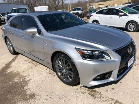 2015 LEXUS CRAFTED F-SPORT LS460 AWD for sale in Weyauwega, WI