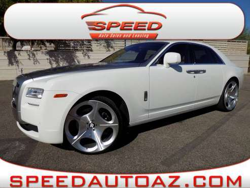 2011 Rolls-Royce Ghost 4dr Sdn with Steering wheel audio controls for sale in Phoenix, AZ