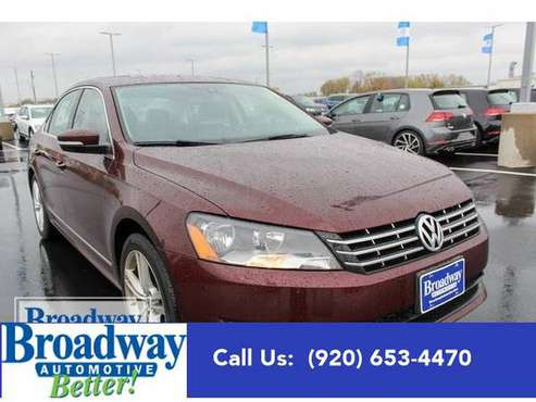 2014 Volkswagen Passat sedan TDI SEL Premium - Volkswagen for sale in Green Bay, WI