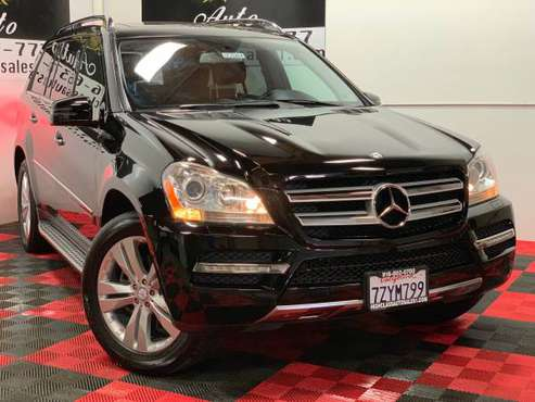 2012 MERCEDES-BENZ GL450 4MATIC AVAILABLE FINANCING!! for sale in MATHER, CA