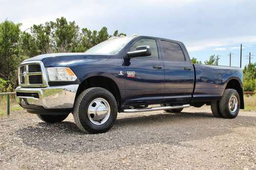 2012 RAM 3500 4X4 - RARE - 6 SPEED - NEW TOYO AT - LOW MILES - CLEAN!! for sale in Liberty Hill, TX