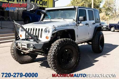 2010 Jeep Wrangler 4x4 4WD Unlimited Rubicon SUV for sale in Englewood, SD