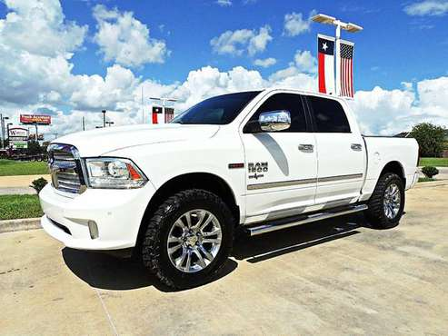 ☎ 2014 Ram 1500 Limited 4X4 EcoDiesel *USAA Preferred Dealer* for sale in Houston, TX