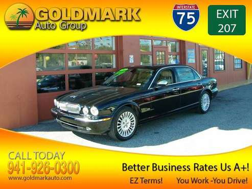 2007 Jaguar XJ8 Vanden Plas PURE LUXURY! CALL NOW! BBB RATES US A+ WOW for sale in Sarasota, FL