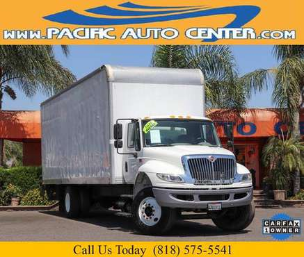 2016 International 4300 Conventional 24 Ft Box Truck Diesel (26816) for sale in Fontana, CA