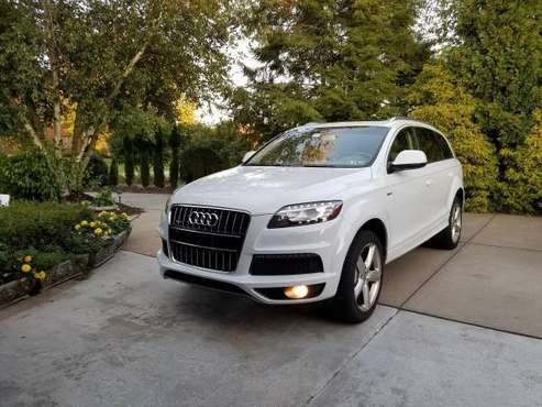 2013 Audi Q7 S-Line Prestige AWD 78k miles MINT for sale in Pittsburgh, PA