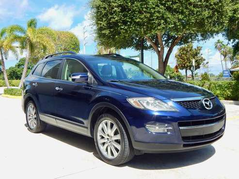 2008 MAZDA CX9 GRAND TOURING NAVIGATION BACK UP CAMERA LOW MILES NICE for sale in Lake Park, FL