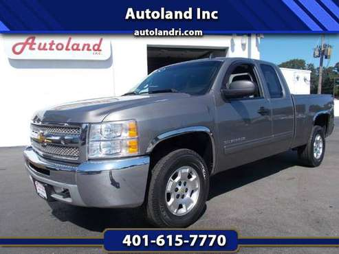 2012 Chevrolet Silverado Extended Cab LT - 4WD for sale in West Warwick, RI