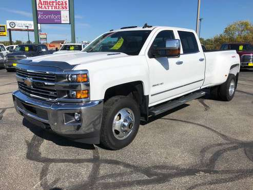 2015 Chevy Silverado 3500HD LTZ Dually Crew Cab for sale in Rochester, MN