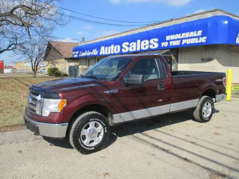 "LOOK!*2010 FORD F-150""XLT""*4X4*STD CAB*LONG BED*RUNS GREAT*CLEAN! for sale in Waterford, MI"