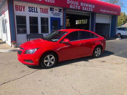 2014 CHEV CRUZE LOADED-AC -LOW MILES -GREAT FIRST CAR CLEAN for sale in Anderson, IN