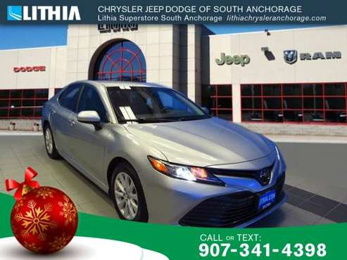 2018 Toyota Camry LE Auto - cars & trucks - by dealer - vehicle... for sale in Anchorage, AK