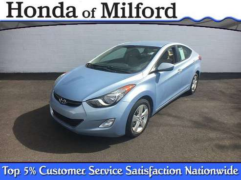 2013 *Hyundai* *Elantra* *4dr Sedan Automatic GLS PZEV for sale in Milford, CT