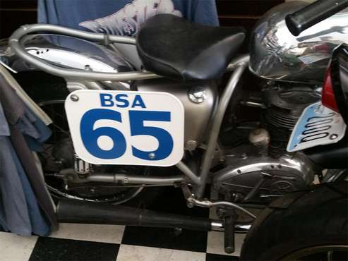 1965 BSA Motorcycle for sale in Carnation, WA