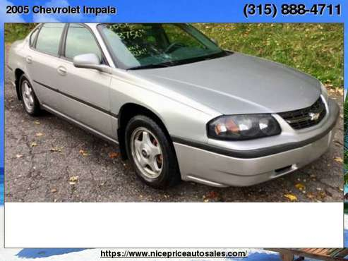 2005 Chevrolet Impala 4dr Base Sdn for sale in new haven, NY