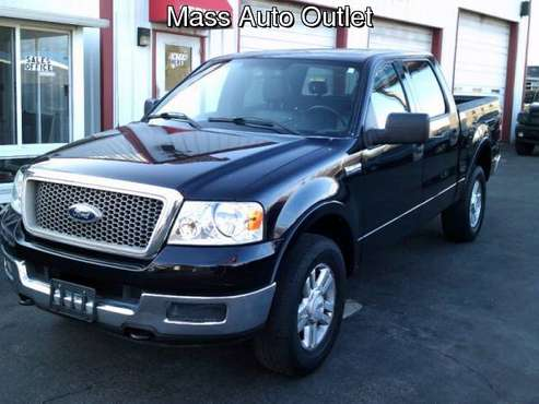 2004 Ford F-150 SuperCrew 139 Lariat 4WD for sale in Worcester, MA