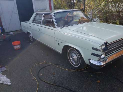 1966 AMC AMBASSADOR for sale in Quinebaug, MA