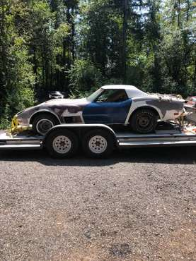 1971 Convertible Corvette big block barn find for sale in Napavine, OR