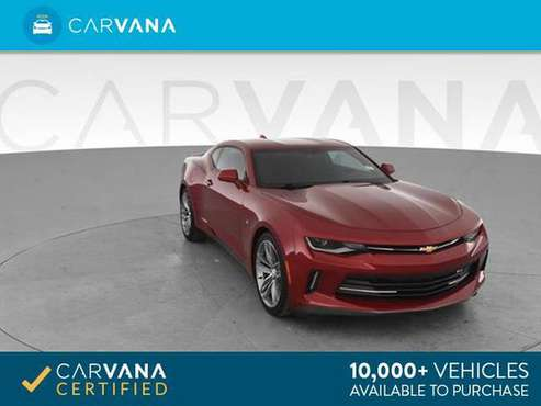 2018 Chevy Chevrolet Camaro LT Coupe 2D coupe RED - FINANCE ONLINE for sale in Atlanta, TN