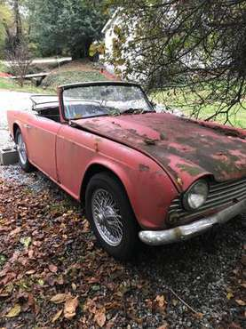 1964 TR4 Parts Car for sale in Hendersonville, NC