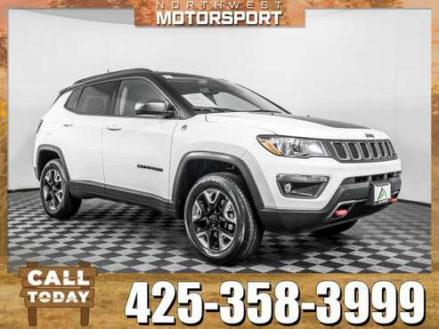 *WE BUY VEHICLES* 2018 *Jeep Compass* Trailhawk 4x4 for sale in Everett, WA