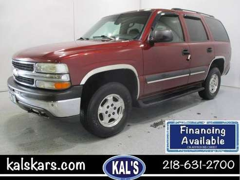 2003 Chevrolet Tahoe 4dr 1500 4WD LS for sale in Wadena, MN
