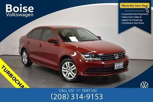 *2018* *Volkswagen* *Jetta* *1.4T S* - cars & trucks - by dealer -... for sale in Boise, ID