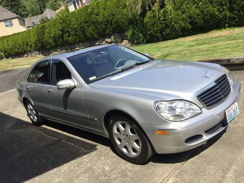 2006 Mercedes Benz S500 4 MATIC Super Clean Serviced for sale in Kirkland, WA