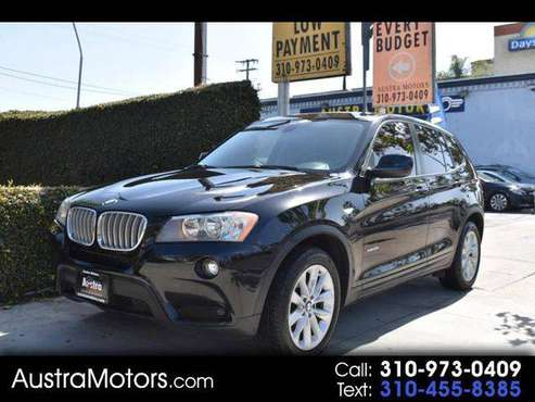 2014 BMW X3 xDrive28i - SCHEDULE YOUR TEST DRIVE TODAY! for sale in Lawndale, CA